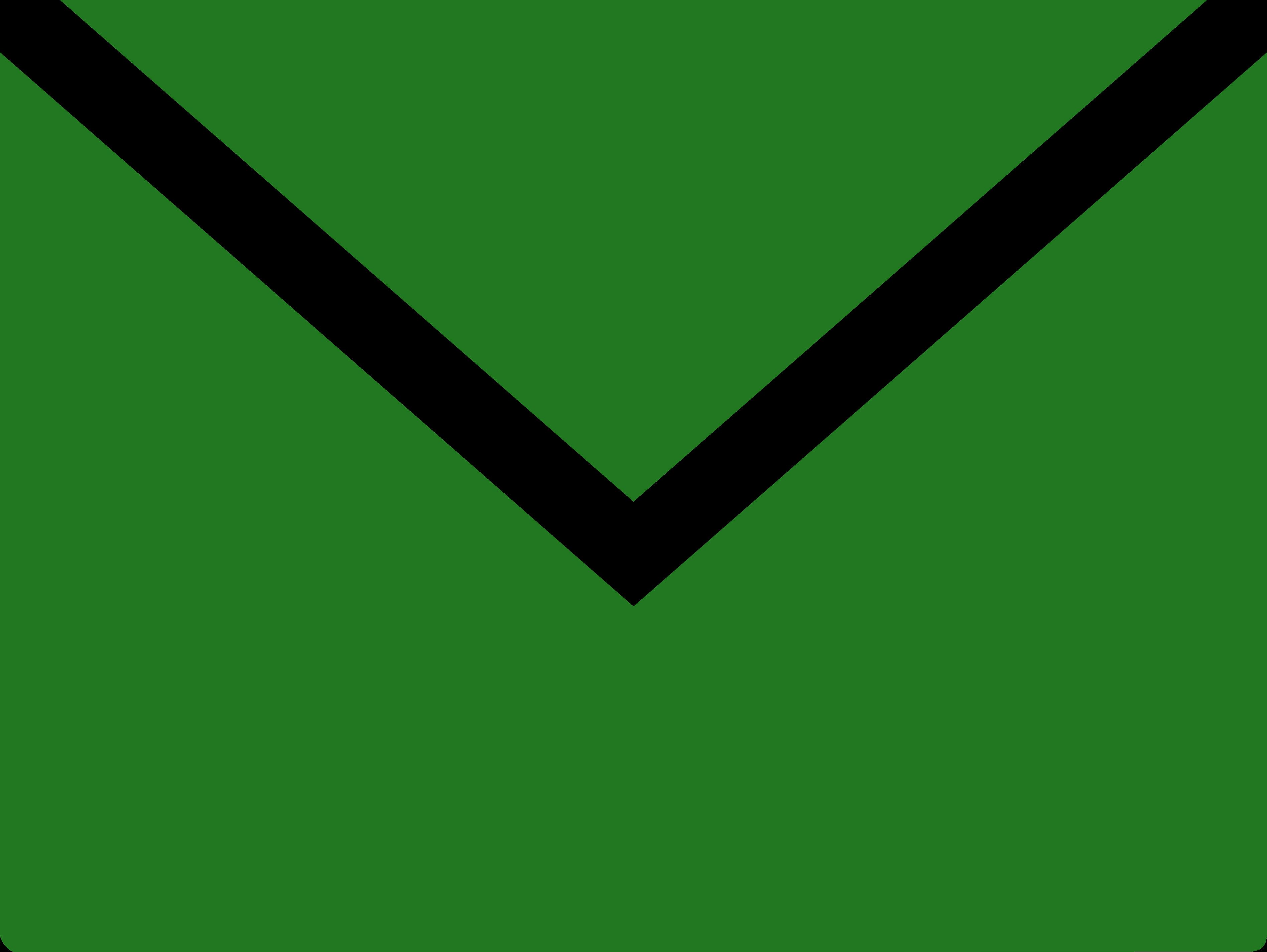 Mailsymbol grøn